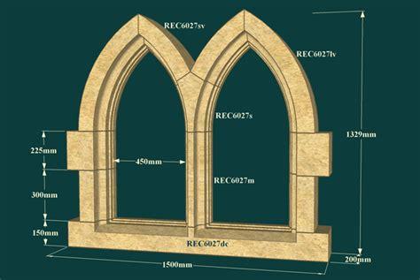 Stone Gothic Windows