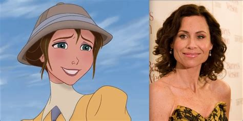 actress jane from tarzan jane and her voice actress minnie driver from tarzan