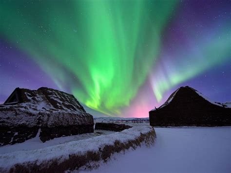 where to see the northern lights northern lights borealis as seen from iceland