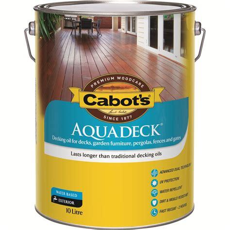 cabots aquadeck  merbau exterior decking oil ebay