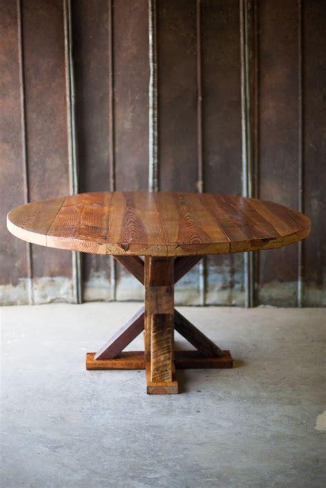 reclaimed wood table  wood table  wood