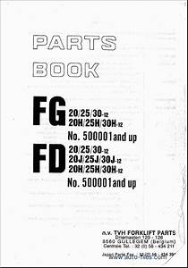 Komatsu Forklift  Spare Parts Catalog  Repair Manual