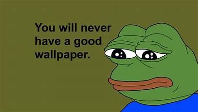 Pepe Frog Meme Memes Wallpapers Feelsbadman Humor