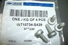 Amazon.com: Ford Screw Part Number W710734S439: Industrial