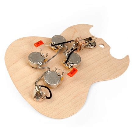 Best Gibson Sg Wiring Harnes by Pre Wired Sg Wiring Harness The Gear Page