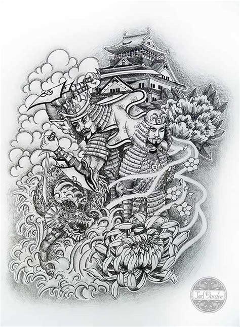 tatouage japonais bras dessin