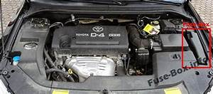 Fuse Box Diagram  U0026gt  Toyota Avensis Ii  T25  T250  2003