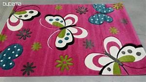 Dětský koberec pro holčičku