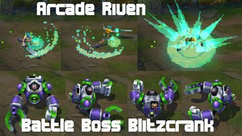 Lol Patch 5.16 / Arcade Riven + Battle Boss Blitzcrank