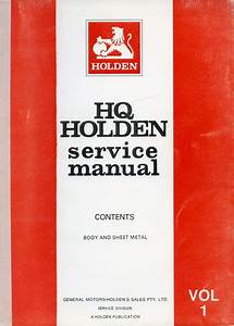 Hq Holden Service Manual