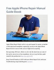 Free Apple Iphone Repair Manual Guide Ebook 2018