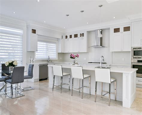 toronto  thornhill custom transitional kitchen design