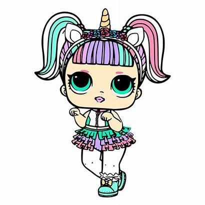 Lol Doll Unicorn Surprise Dolls Svg Coloring