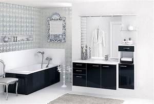 osez la salle de bains noire travauxcom With salle de bain faience noire