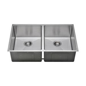 kitchen sinks used the chefs series undermount stainless steel 33 in 5641