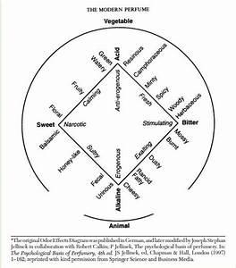 Odor Effects Diagram By Paul Jellinek  1951   Published In