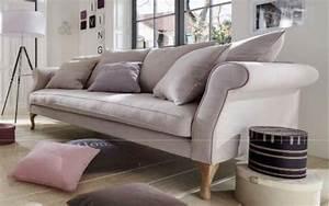 Sofa Hussen 3 Sitzer : sofa couch 3 sitzer lichtgrau eiche romantisch reinigungsf hig ink lose kissen kaufen bei ~ Bigdaddyawards.com Haus und Dekorationen