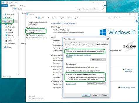 bureau à distance windows comment utiliser la fonction bureau à distance sur windows 10 tech advisor