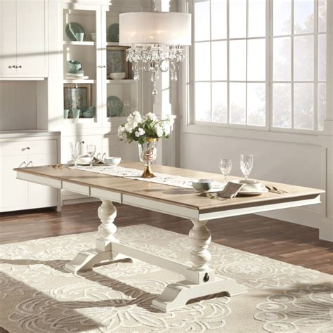 antique white dining table furniture wonderful antique white dining tables for 4135