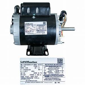 Liftmaster K20 4hp Replacement Motor For