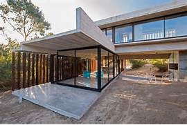 Concrete Holiday Retreat Partially Supported By A Sand Dune Casa MR Concrete Residential Architecture Designed Spacious 1 Outdoor Living Beautiful Modern Concrete House Adorable Home Excellent Styles Of Modern Concrete Home Plans Modern Concrete Home