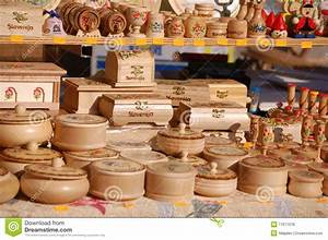 Group of wooden souvenirs stock photo Image of sell