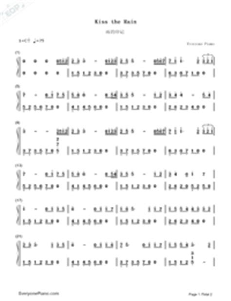 not angka kiss the rain yiruma kiss the rain simple version yiruma free piano sheet music piano chords