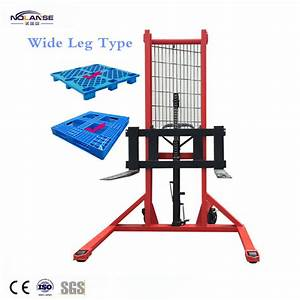 China Manual Pallet Forklift 1ton 2ton 3ton Hand Hydraulic