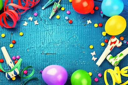 Birthday Party Colorful Balloon Holiday Background Wallpapers