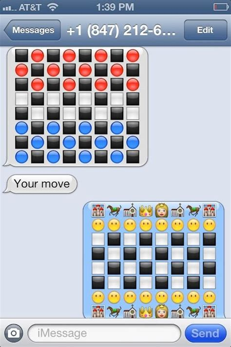 play chess  checkers  imessage image cult