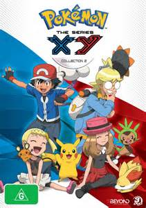 List of English language Pokémon the Series XY home video releases Region 4