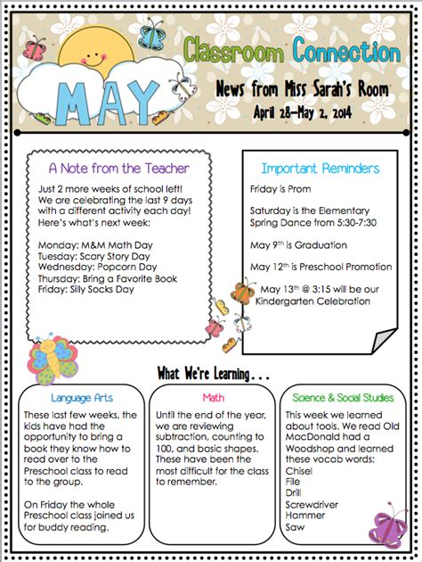 kindergarten may 2 newsletter 270 | Screen shot 2014 04 29 at 3.51.54 PM