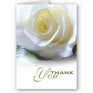 White Rose Thank You Card | Flickr - Photo Sharing!