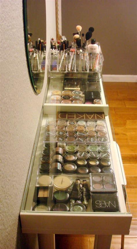 Vanité Chambre De Bain by Diy Ikea Makeup Vanity Maquillage