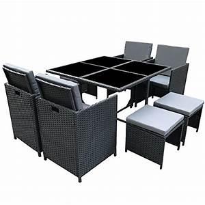 Gartenmöbel Sitzgruppe Rattan Lounge : poly rattan essgruppe rattan set mit glastisch garnitur gartenm bel sitzgruppe lounge m bel24 ~ Sanjose-hotels-ca.com Haus und Dekorationen