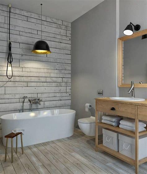 idee  il bagno senza piastrelle molto creative