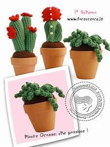 Amigurumi Cactus Schemi Gratis ~ Slugom for