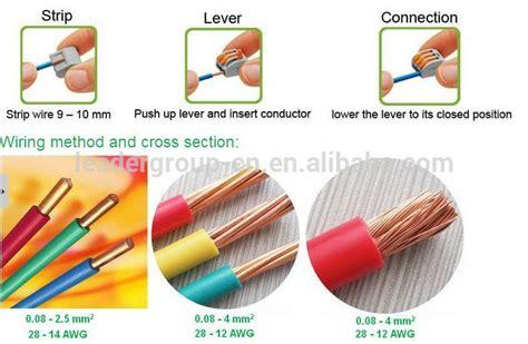 Wholesale 1000 Piece 5 Way Push Wire Connector Wago