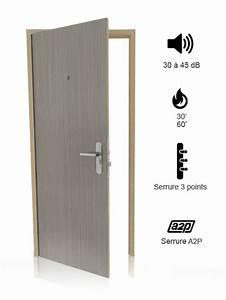 Porte Palière 3 Points : porte pali re industrimat fermetures ~ Melissatoandfro.com Idées de Décoration
