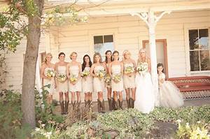 country western wedding jamie scott green wedding With country wedding party dresses