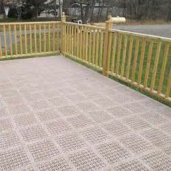 Outdoor Carpeting For Decks by Decking Tiles Outdoor Pvc Deck Tiles Staylock Deck Floor