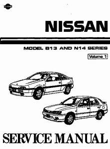 Nissan Sentra B13 Ga16de Owner U0026 39 S Manual