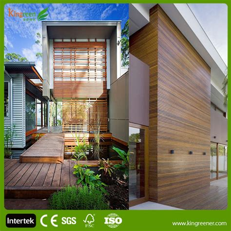 outdoor wpc wall panel easy installation wood plastic