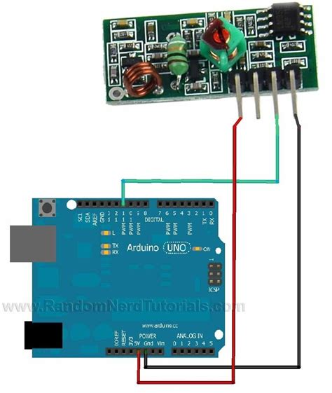 Using Mhz Transmitter Receiver Modules With Arduino