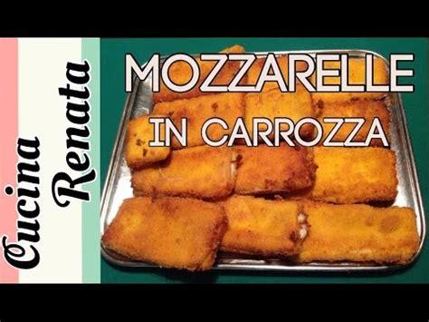 come fare le mozzarelle in carrozza come fare le mozzarelle in carrozza cucina