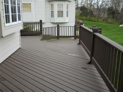 Restaining A Deck With Solid Stain by Null Deck Stain Major League Painting Inc