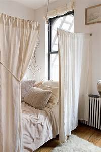 Cortinas ideales para separar ambientes de forma economica for Como crear un ambiente perfecto para dormir