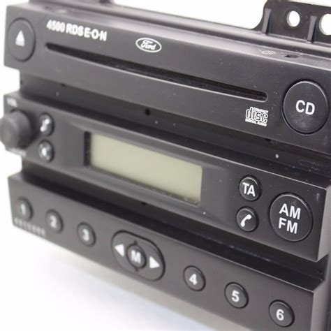 ford mk6 car cd player 4500 rds eon car stereo and radio with code in swindon
