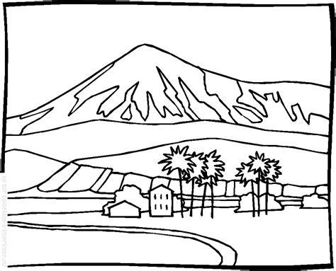 33 dibujos de Paisajes para colorear Oh Kids Page 1
