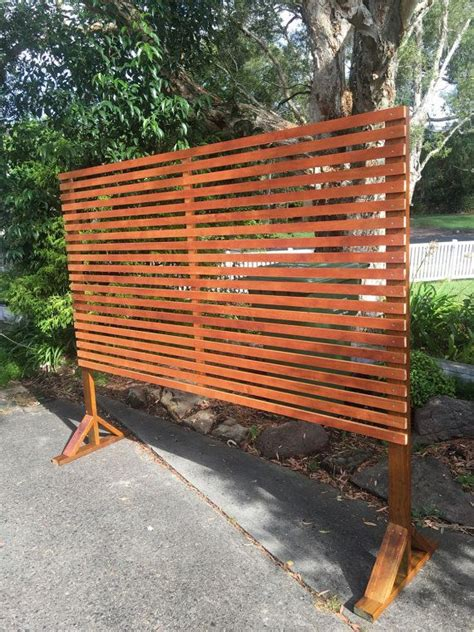 Backyard Privacy Screens Trellis by Timber Privacy Divider Screen Trellis With Horizontal